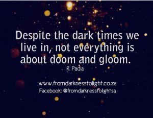Raeesa Padia , From Darkness To Light