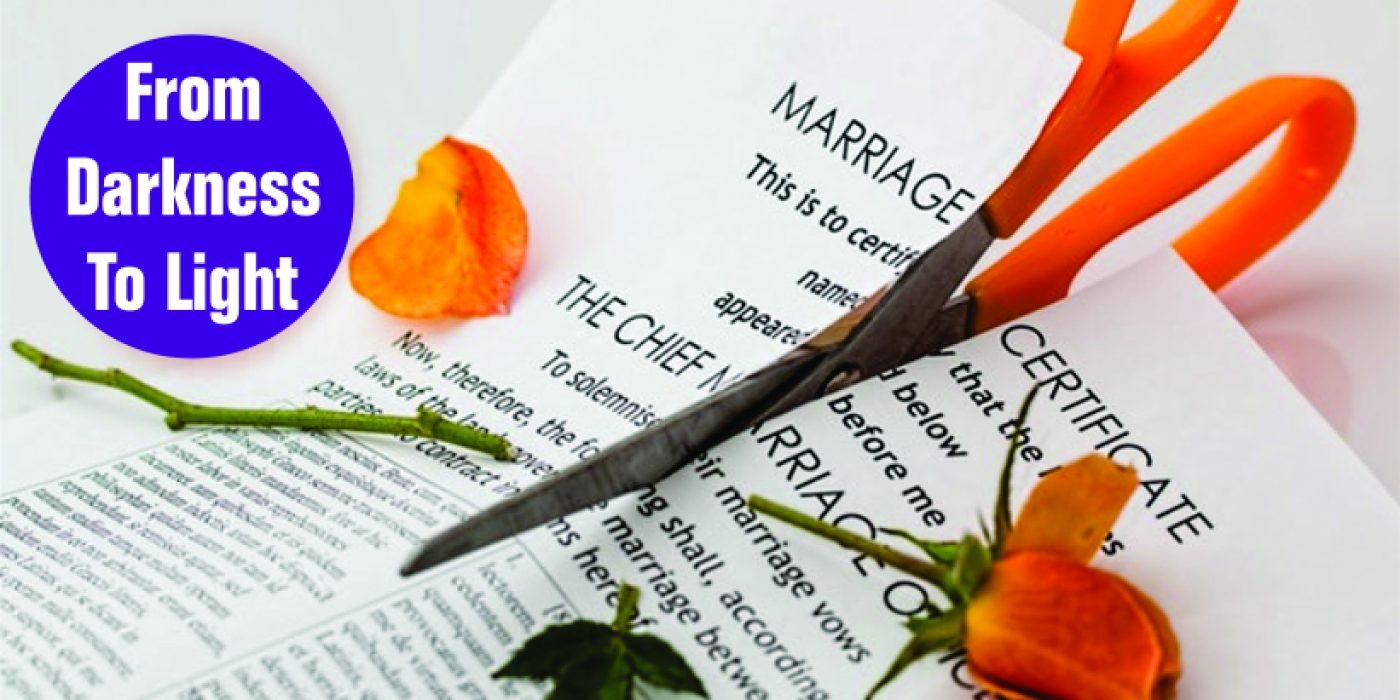 divorced or widowed