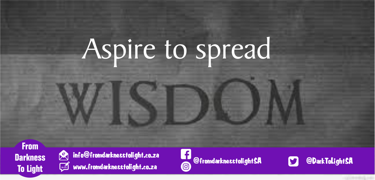 Aspire to spread Wisdom