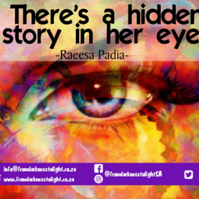Story in her eyes Raeesa Padia