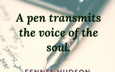 A pen Transmits